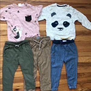 Zara clothes lot boy size 3-4